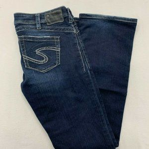 Silver Jeans Tuesday 16 1/2 Women's Size 31/33 Dis